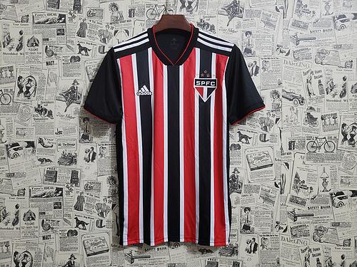 227422a2d9 Camisa São Paulo II 2018 s/n° Torcedor Adidas Masculina - Vermelho e Branco