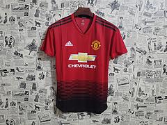 e1c799cd81250 Camisa Manchester United Home 2018 s/n° Torcedor Adidas Masculina - Vermelho  e Preto