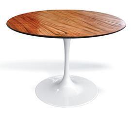 Mesa de jantar Saarinen imbuia