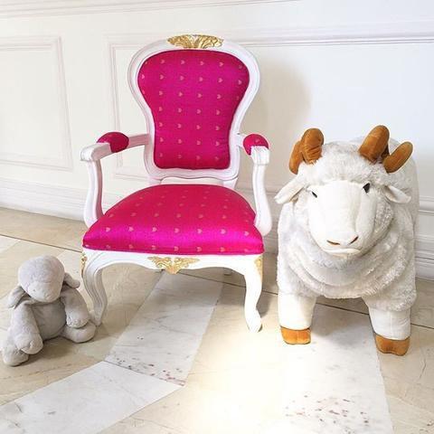 Cadeira infantil Luis XV