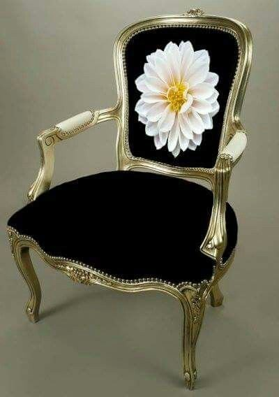 Cadeira Luiz XV com braço