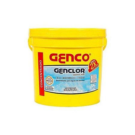Genclor Granulado Cloro Estabilizado 100 Ativo 4,5kgs Genco