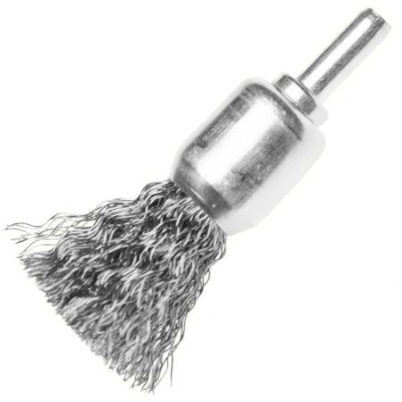 Escova De Aço Tipo Pincel Com Haste De 30 Mm