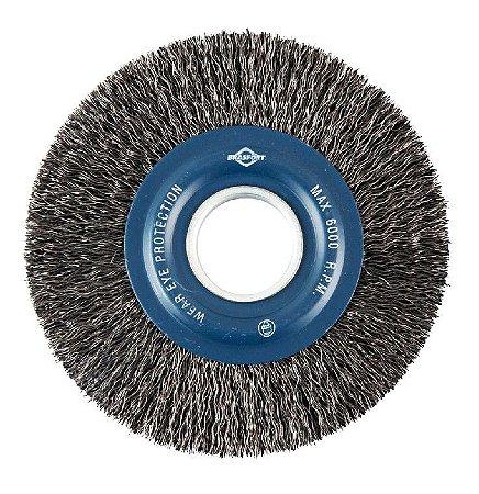 Escova De Aco Circular Brasfort 6 X 5/8 A/c - 7240