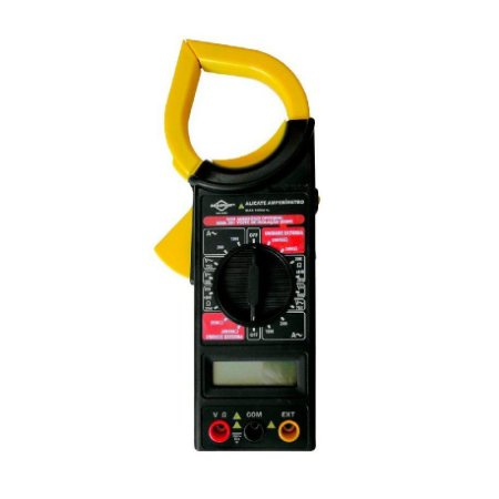 Alicate Amperimetro C/ Multimetro Digital C/ Estojo Brasfort