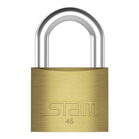 Cadeado Latão 45mm Stam