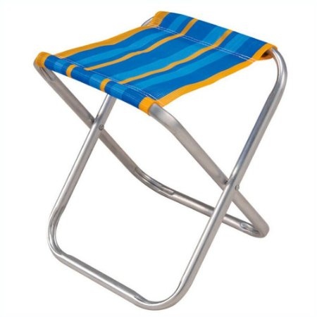 Cadeira Camping Banco Banqueta Dobravel Aluminio Pescador