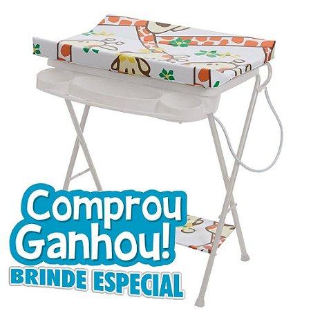 Banheira De Bebê Plástica Luxo Galzerando Girafas 7015gir