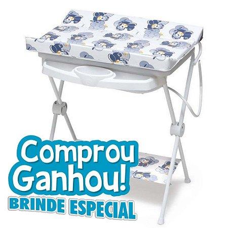 Banheira De Bebê Plástica Luxo Galzerando Aviador 7015av