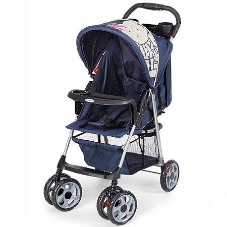 Carrinho De Bebê Galzerano Veneto Azul 1300azl