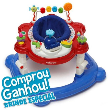 Andador Funny Galzerano Colorido 4030cr