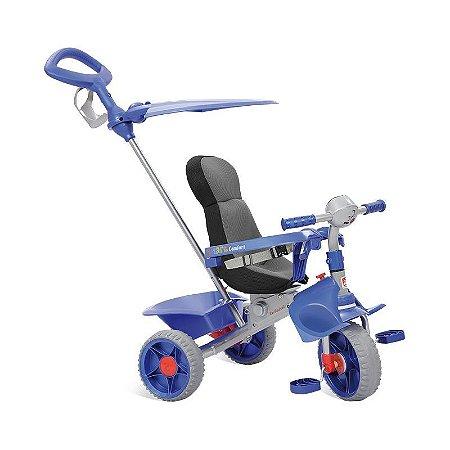 Triciclo Infantil Smart Comfort Azul Bandeirante