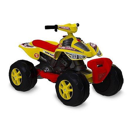 Quadriciclo Elétrico 12v Amarelo Bandeirante 2732