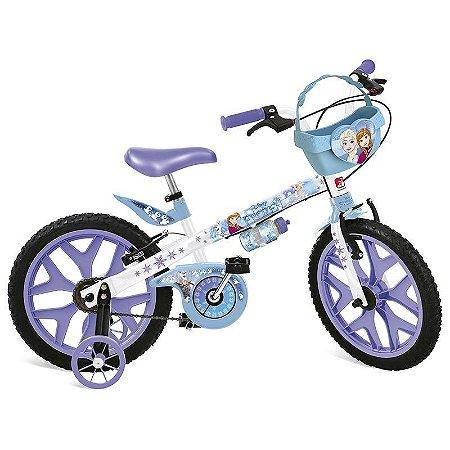 Bicicleta Infantil Aro 16 Bandeirante Frozen Disney 2499