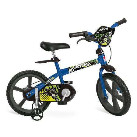 Bicicleta Infantil Adventure Aro 14 Bandeirante 3011