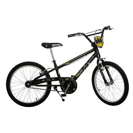 Bicicleta Aro 20 Batman Preto Bandeirante 3200
