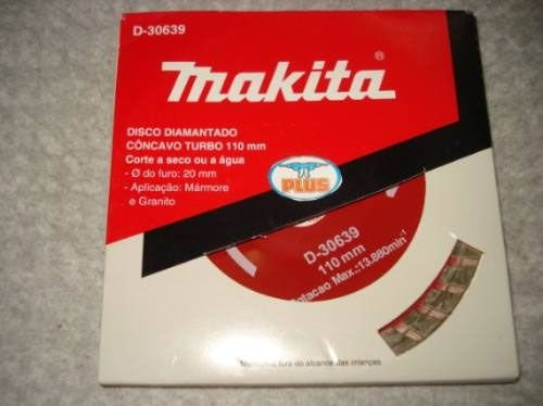 Disco Diamantado Makita D-30639 Turbo Concavo