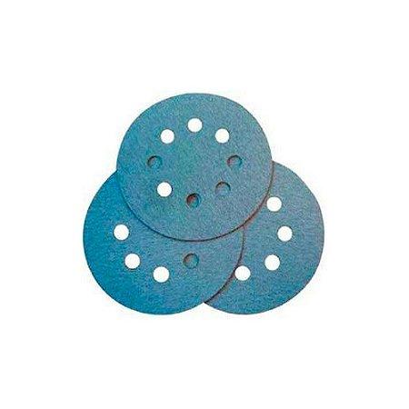 Disco Lixa Com Fixação 8 Furos Makita 125 Mm Gr 40 - D54134