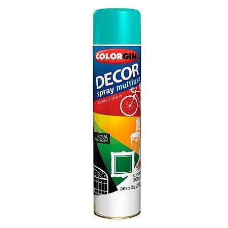 Tinta Spray Decor Azul Céu 350ml - Colorgin