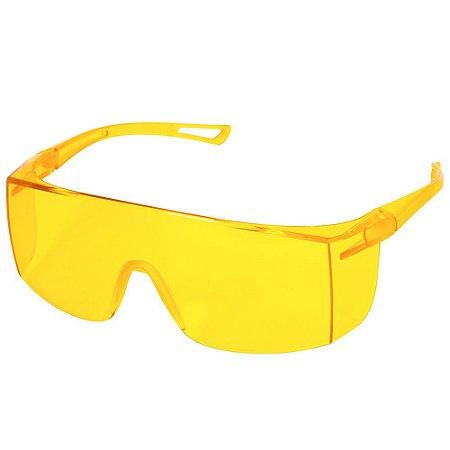 Óculos De Proteção Sky Delta Plus Ou Pro Safaty Âmbar