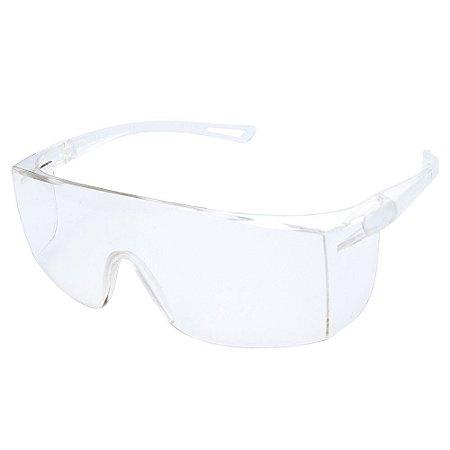 Óculos De Proteção Sky Delta Plus Ou Pro Safaty Incolor