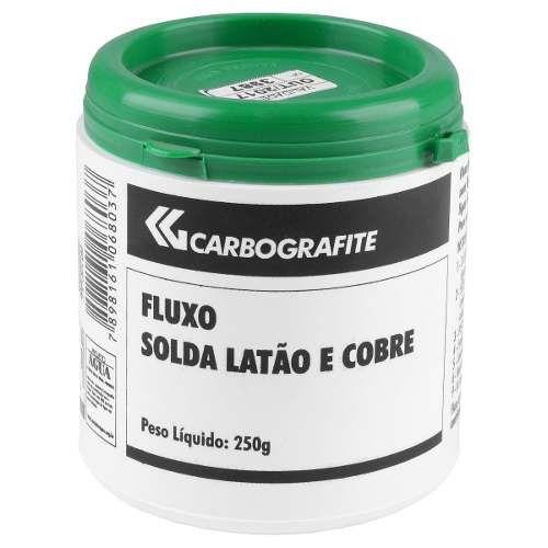 Fluxo De Solda Latão E Cobre - Carbografite