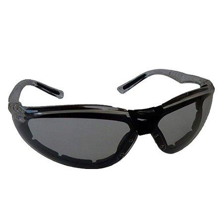 Oculos De Segurança Cayman F Cinza Carbografite