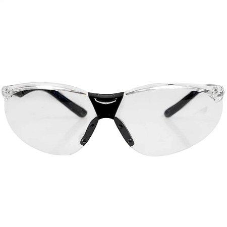 Oculos De Segurança Cayman Anti Embaçante Incolor Carbografi
