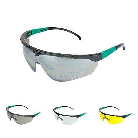 Óculos De Segurança Targa Âmbar Carbografite