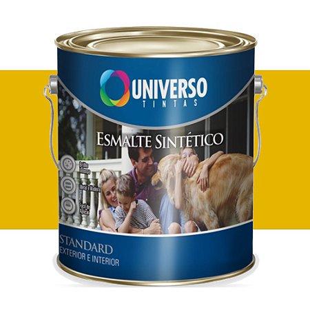 Tinta Universo Esmalte Sintetico Stand Amarelo 900ml