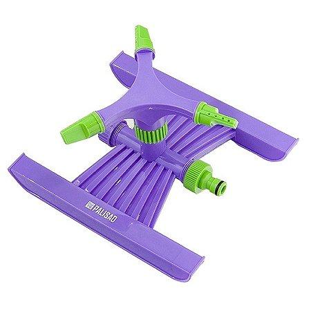 Irrigador Rotativo Plástico 3 Jatos Encaixe 3/4 Pol. Palisad