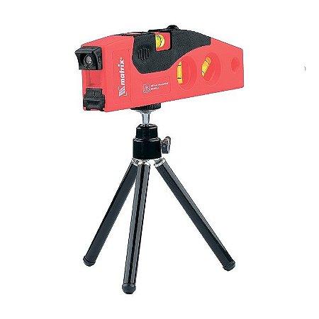 Nivel Laser 180mm 3 Bolhas Com Tripe De 220mm Mtx