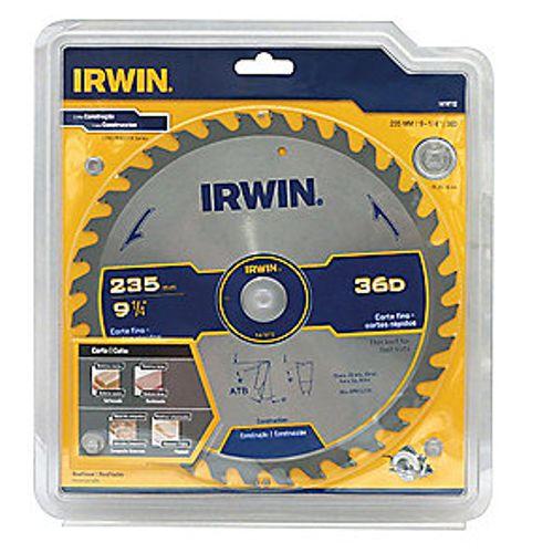 Disco Serra Circular Por 9.1/4 X 36 D X 25 Mm His1906b Irwin
