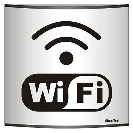 Placa Calandra Em Alum 14 X 14 Wifi