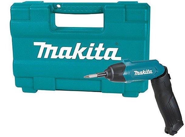Parafusadeira A Bateria 3,6v Makita Df001dw - Bivolt C/81pcs
