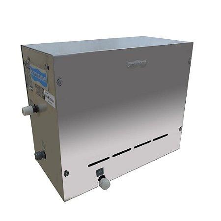 Sauna Steam Inox 12kw Para Até 18m³ Sodramar