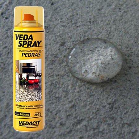 Spray Impermeabilizante Vedaspray Protege Pedra Mármore Piso