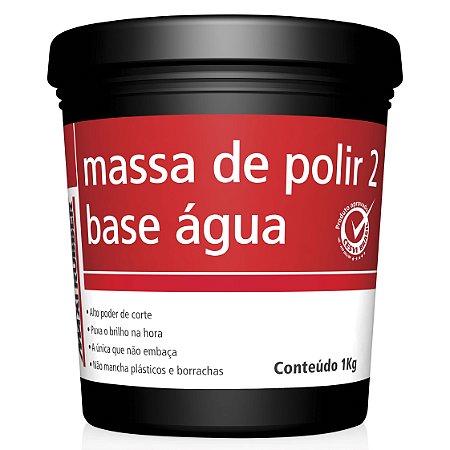 Massa De Polir Nº 2 6mh020 Base Água 1 Kg Maxi Rubber