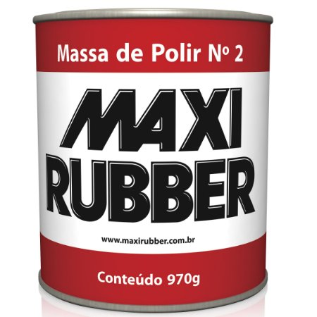 Massa De Polir Num 2 - 970 Grs (6mh010) Maxi Rubber