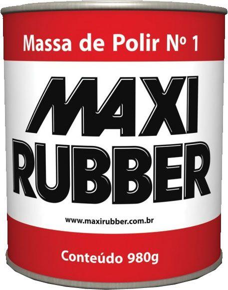 Massa De Polir 6mh001 Numero 1 - 980 Grs Maxi Rubber