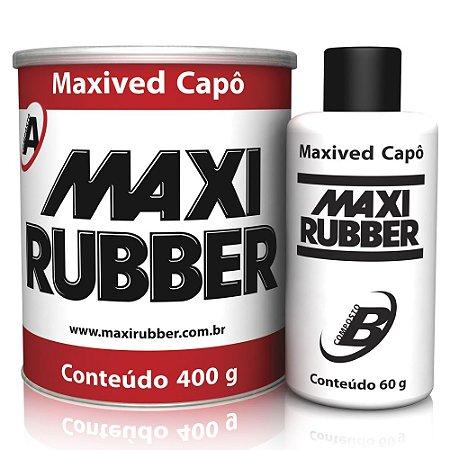 Adesivo Kpo Maxived Capô Branca 400g C/catalizador Maxiruber