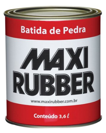 Batida de pedra 3,6l Maxi Rubber
