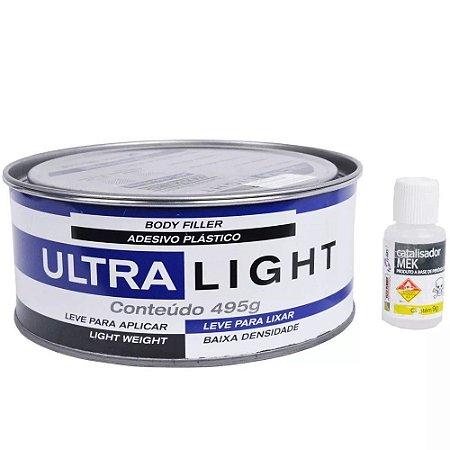 Adesivo Plastico Maxi Rubber Ultra Light 495g - 1mg095