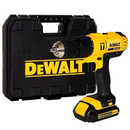 Parafusadeira A Bateria Usb 20v Dewalt Dcd776ch 127v