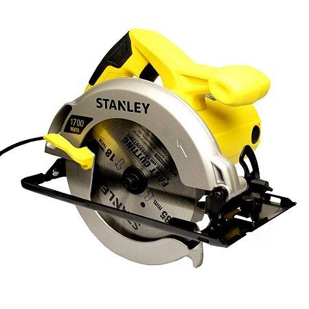 Serra Circular 7.¼ Corte Ângulo 1700w Stsc1718 220v Stanley