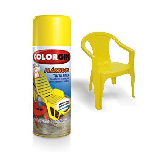 Tinta Colorgin P/ Cadeira De Plástico - Verde Suave 1509