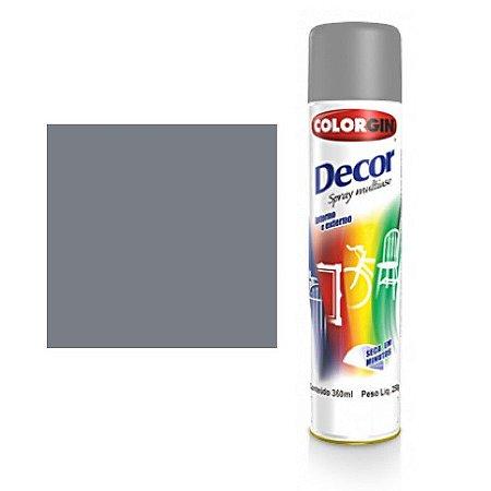 Tinta Spray Colorgin Decor Uso Geral 8721 Primer Cinza 350ml