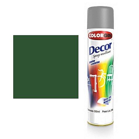 Tinta Spray Colorgin Decor Uso Geral 8751 Verde Folha 350ml