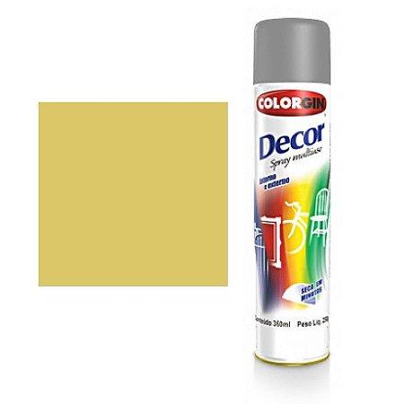 Tinta Spray Colorgin Decor Uso Geral 8811 Amendoa 350ml