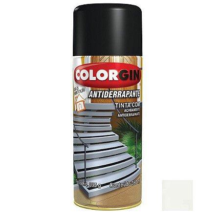 Tinta Spray Colorgin Antiderrapante - Preto